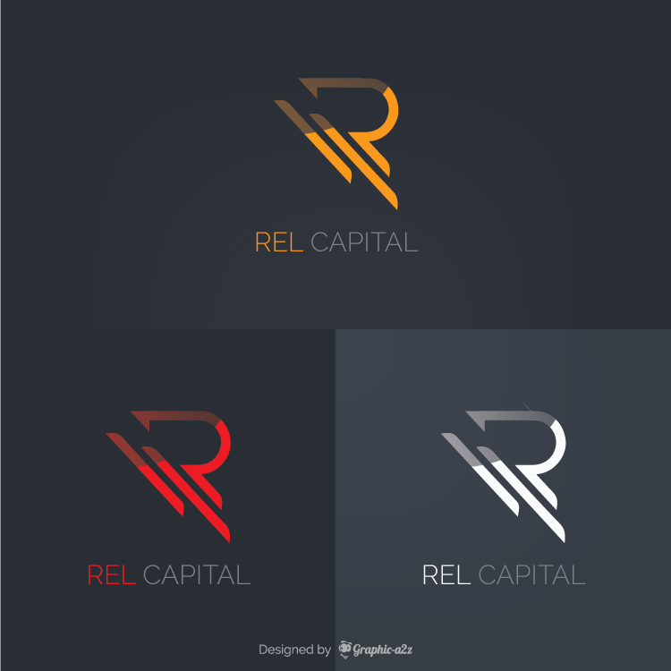 Creative vector letter r logo design elements