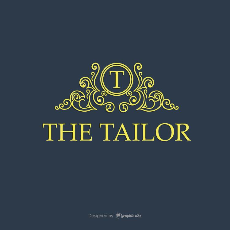 Tailoring logo design free vector